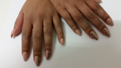 OPI Gel Color Tiramisu for  Two met dierenprint stempel
